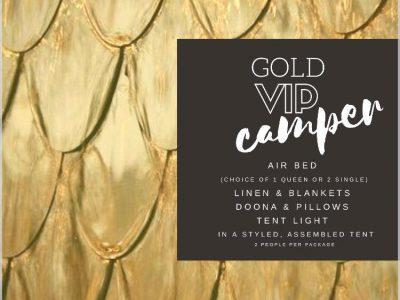 tent haus gold vip
